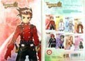 Tales of Symphonia 8 Post Card Set