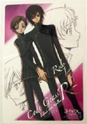 Code Geass Collectable Board Lelouch and Rolo