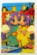 Lucky Star Collectable Board Twins Yukata