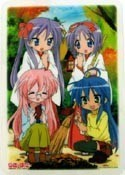 Lucky Star Collectable Board Group Shrine