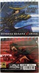 Sengoku Basara Masamune and Yukimura Mini Note Pad