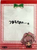 Code Geass Anya Mini Note Pad