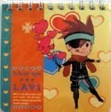 D.Gray-Man Lavi Mini Spiral Note Pad