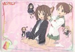 K-On Mousepad Note Pad Pink
