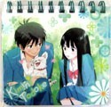 Kimi ni Todoke Mini Spiral Note Pad Blue