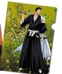 Bleach Ichibankuji F Prize Clear File Ichigo's Dad