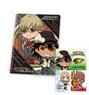 Tiger and Bunny Ichibankuji Kotetsu and Barnaby Spiral Notebook and Stickers