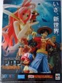 One Piece POP Clear File Folder