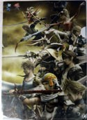 Final Fantasy Good Guys Group Clear File Folder