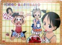 Ichigo Mashimaro Group Plastic Desk Mat