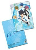 Free! - Iwatobi Swim Club Key Art Clear File