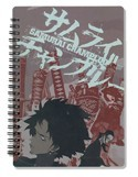 Samurai Champloo Spiral Notebook