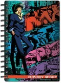 Cowboy Bebop Spike Spiral Notebook
