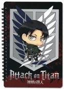 Attack on Titan Levi Note Book