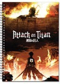 Attack on Titan Key Art Large Note Book