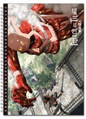 Attack on Titan Eren and Colossal Titan Note Book