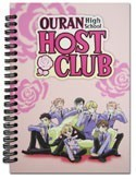Ouran High School Host Club Spiral Notebook