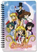 Sailor Moon Spiral Notebook