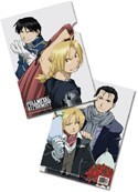 Fullmetal Alchemist Roy & Ed File Folder