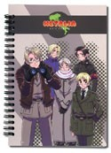 Hetalia Axis Powers Spiral Notebook