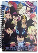 Blue Exorcist Spiral Notebook