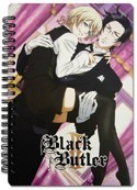 Black Butler II Claude and Alois Spiral Notebook