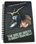 Gundam Wing Duo Spiral Notebook