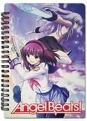 Angel Beats Spiral Notebook