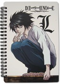 Death Note L Spiral Notebook