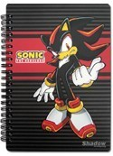 Sonic the Hedgehog Shadow Spiral Notebook