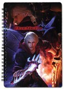 Devil May Cry Spiral Notebook