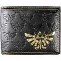 Zelda Embossed Bi-fold Wallet