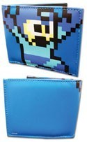 Megaman Pixel Blue Bifold Wallet
