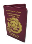 Hetalia Axis Powers Germany Passport Wallet