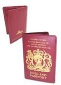Hetalia Axis Powers England Passport Wallet