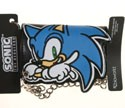 Sonic the Hedgehog Leather Wallet with Chain