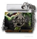 Avengers Logo Chain Wallet