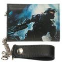 Halo 4 Master Chief Blue Chain Wallet