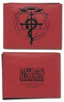 Fullmetal Alchemist Brotherhood Flame Cross Wallet