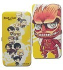 Attack on Titan Chibi Group Checkbook Wallet