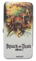 Attack on Titan Group Checkbook Wallet