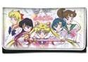 Sailor Moon Group Checkbook Wallet
