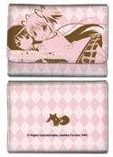 Puella Magi Madoka Magica Pink Madoka and Homura Trifold Wallet