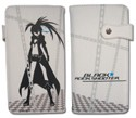 Black Rock Shooter White Long Wallet