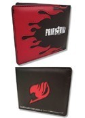 Fairy Tail Red and Black Symbol Bifold Wallet