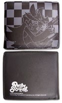Panty and Stocking Black Checkered Wallet