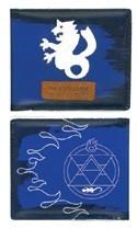 Fullmetal Alchemist Blue State Alchemy Symbol Bifold Wallet