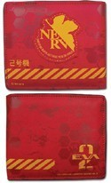 Neon Genesis Evangelion Unit 02 Bifold Wallet