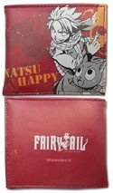Fairy Tail Natsu and Happy Bifold Wallet