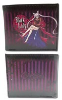 Sailor Moon Black Lady Bifold Wallet